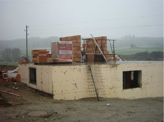 Holzhausbau 1