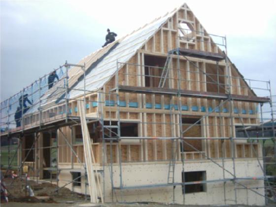 Holzhausbau 10