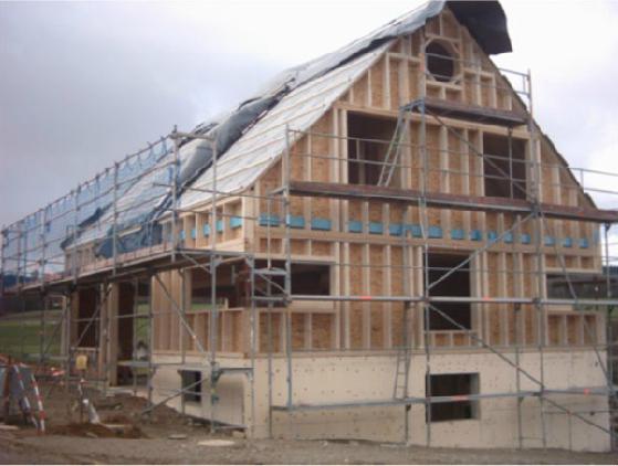 Holzhausbau 11