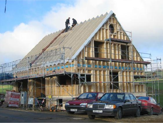 Holzhausbau 12