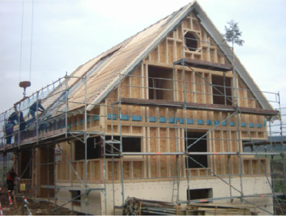Holzhausbau 13