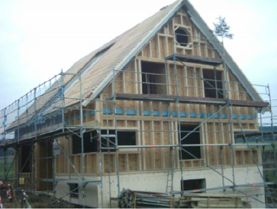 Holzhausbau 14