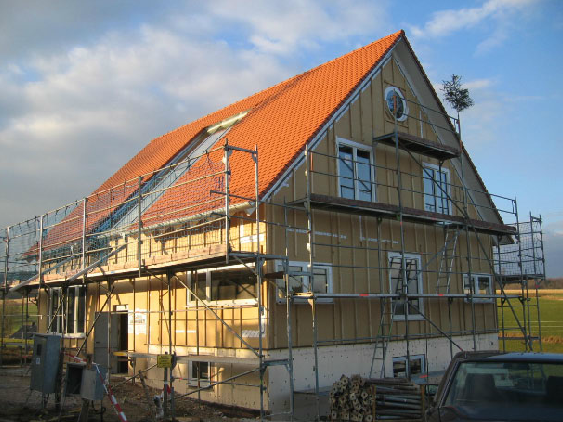 Holzhausbau 15