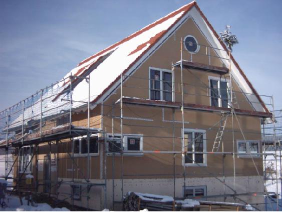 Holzhausbau 16