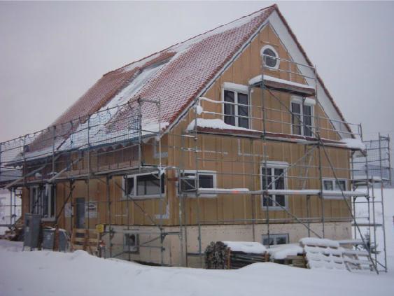 Holzhausbau 17
