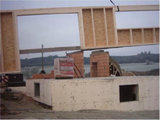 Holzhausbau 2