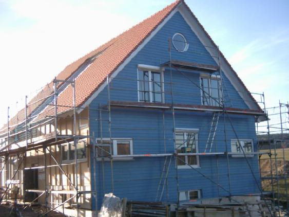 Holzhausbau 20