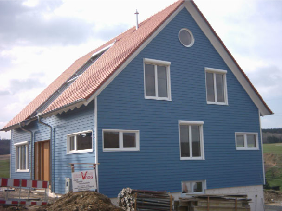 Holzhausbau 26