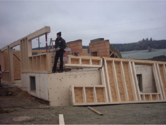 Holzhausbau 3