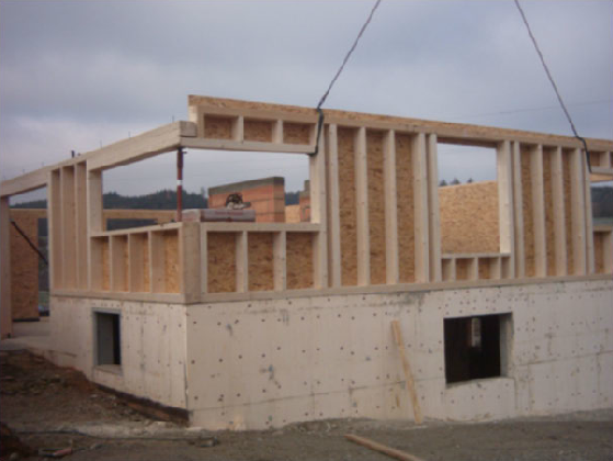 Holzhausbau 4