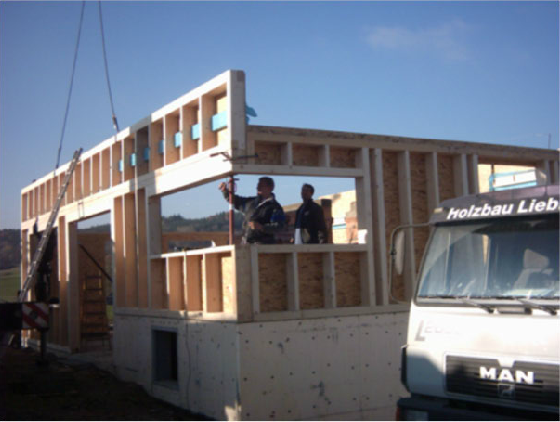 Holzhausbau 5