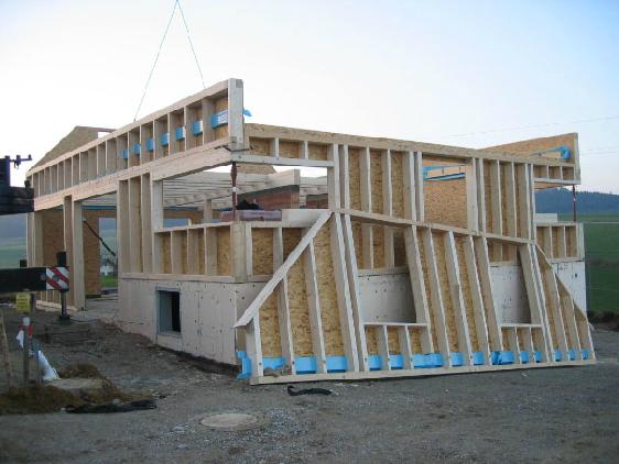 Holzhausbau 6