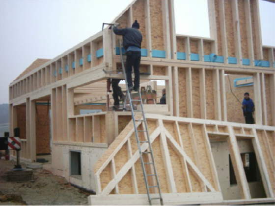 Holzhausbau 7