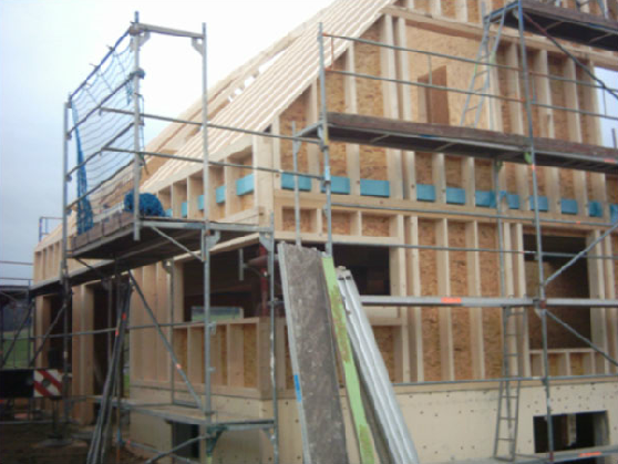 Holzhausbau 8