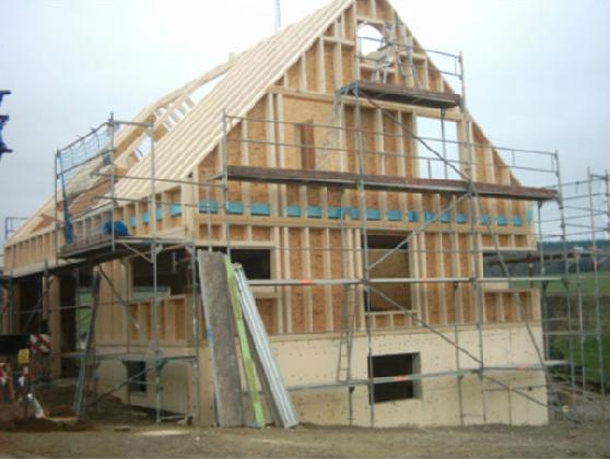 Holzhausbau 9